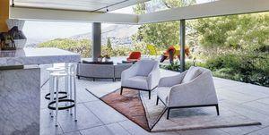 Salón de un casa moderna en Ciudad del Cabo