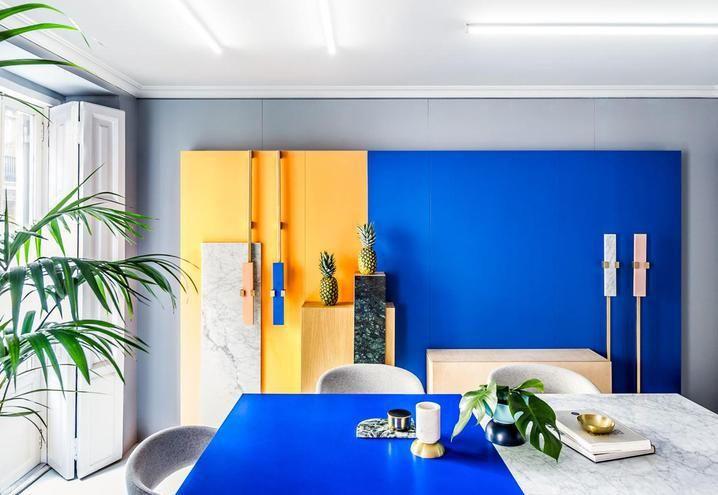Foto Pareti Colorate : Pareti colorate idee per arredare casa