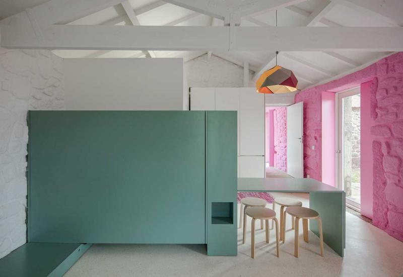 Colore Muri Esterni Casa : Pareti colorate per il restyling di una casa country