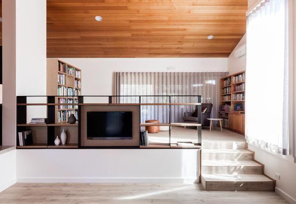 Soffitti In Legno Chiaro : Soffitti e pareti in legno nella green west house nuova casa a orange
