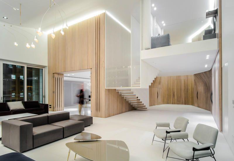 Rivestimento Casa In Legno : Pareti in legno di rivestimento per una moderna casa a beirut