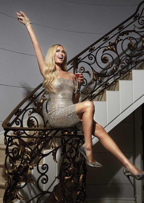 Portada de diciembre Cosmopolitan: Paris Hilton.