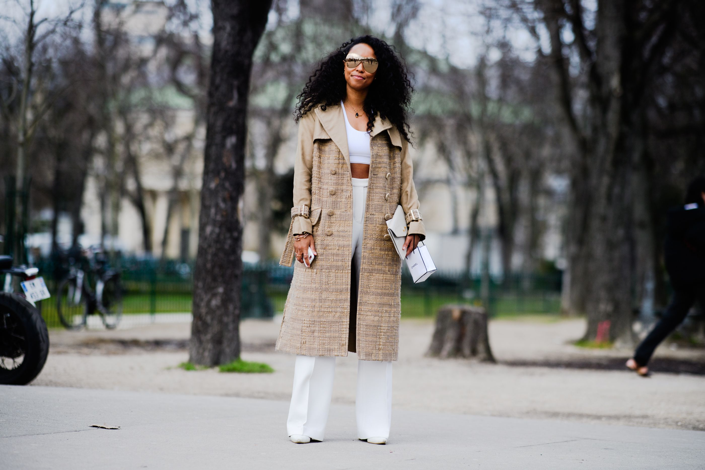 bd4ed572a245 The Best Street Style From Paris Fashion Week Fall 2018