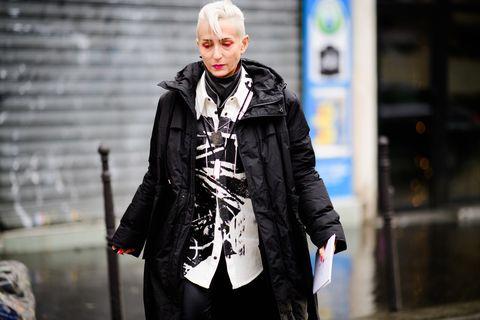 Street fashion, Fashion, Outerwear, Jacket, Street, Photography, Costume, Coat, Overcoat, Style,