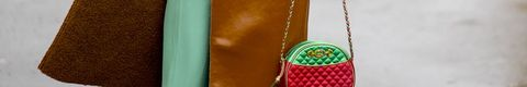 Green, Leather, Textile, Bag, Fashion accessory, Handbag, Satchel,