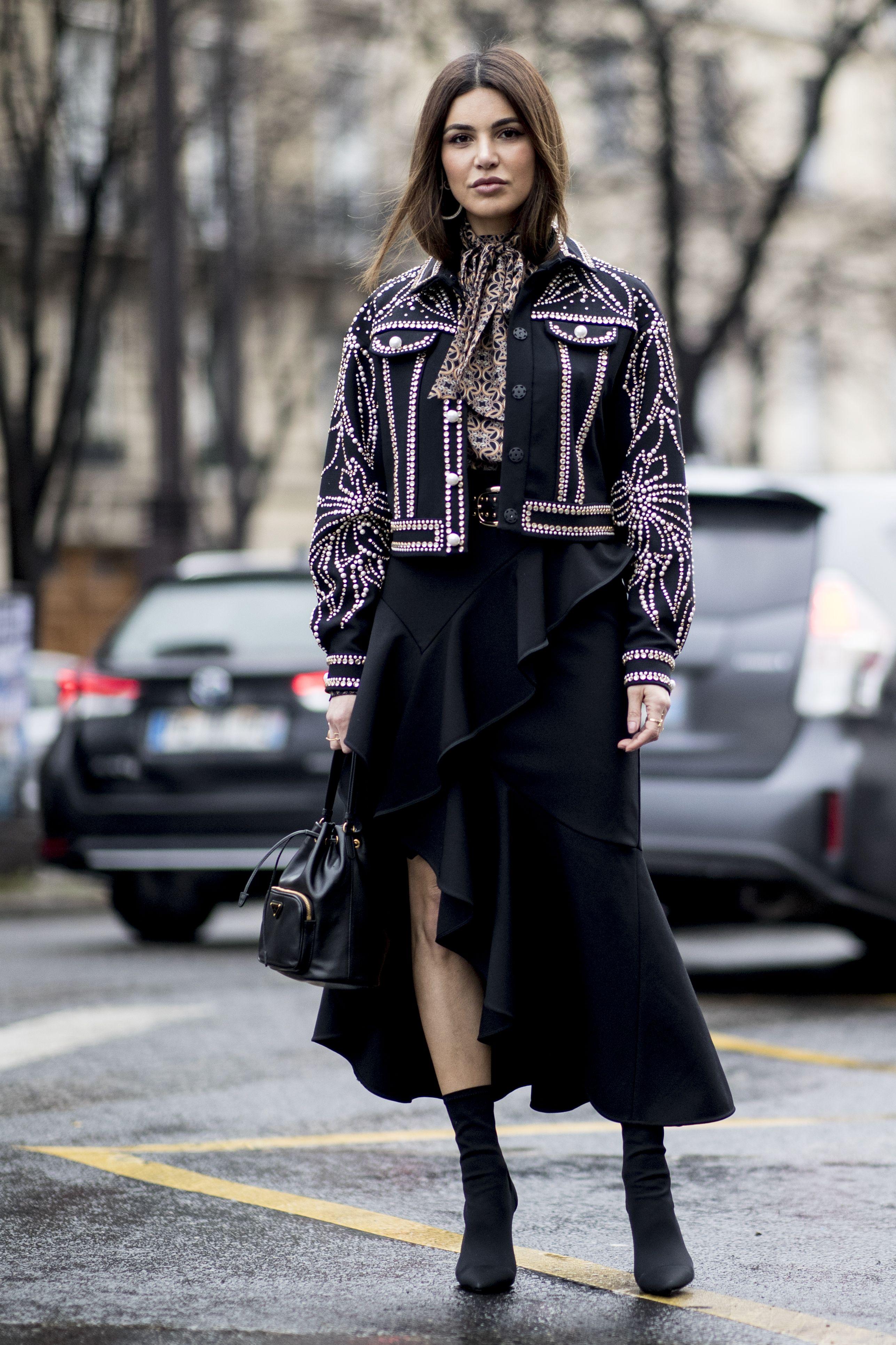 haute couture street style paris SS19