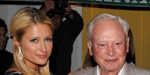 Paris y Barron Hilton en 2010