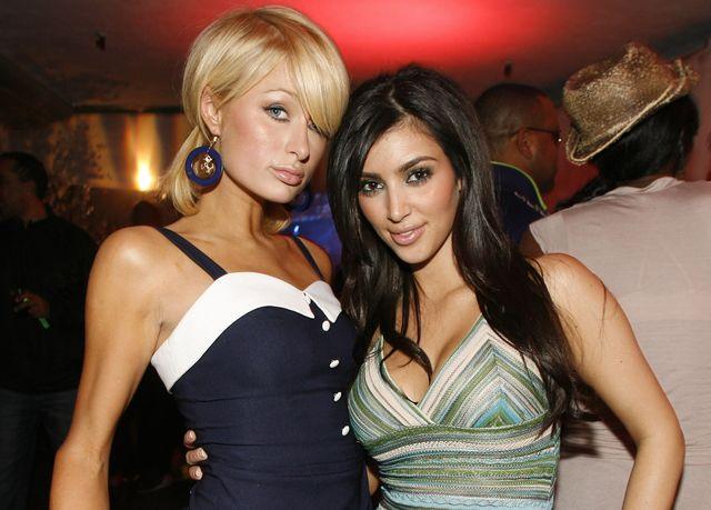 paris hilton and kim kardashian