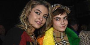Paris Jackson and Cara Delevingne