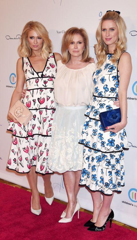 Paris, Kathy y Nicky Hilton