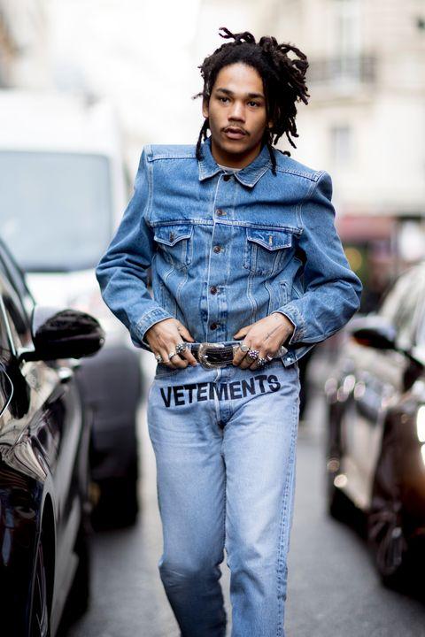 Denim, Jeans, Street fashion, Clothing, Fashion, Textile, Photo shoot, Jacket, Cool, Model,