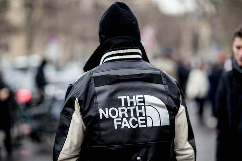 People, Jacket, Street fashion, Outerwear, Fashion, Human, Hoodie, Street, Police, Leather jacket,