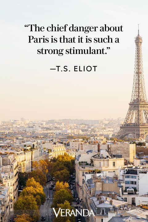 Veranda Paris Quotes T.S. Eliot