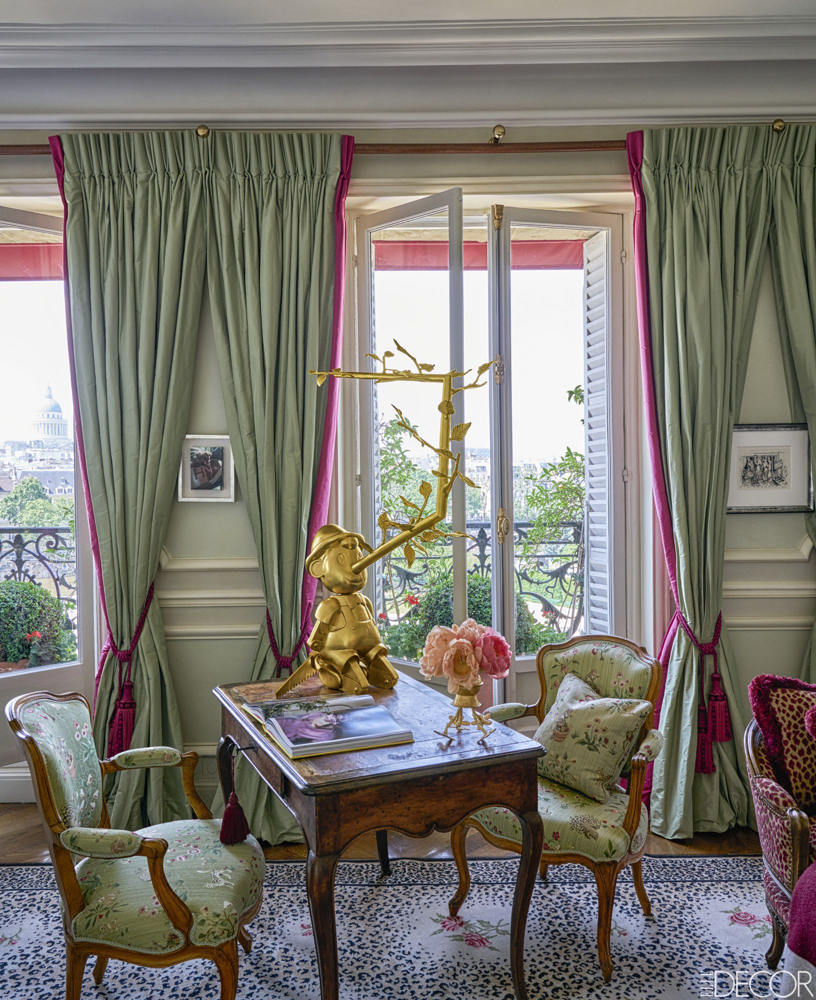 paris living room.  20 Of The Most Stylish Rooms In Paris French Style Homes