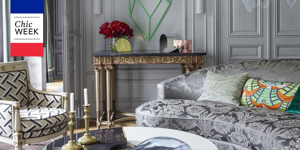 20 of the most stylish rooms in paris french style homes for Elle decoration france