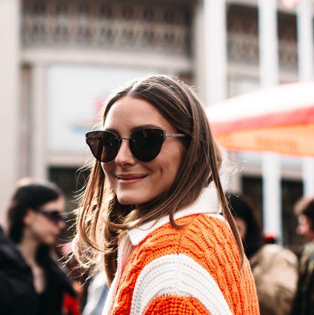 Eyewear, Orange, White, People, Street fashion, Sunglasses, Fashion, Red, Beauty, Snapshot,