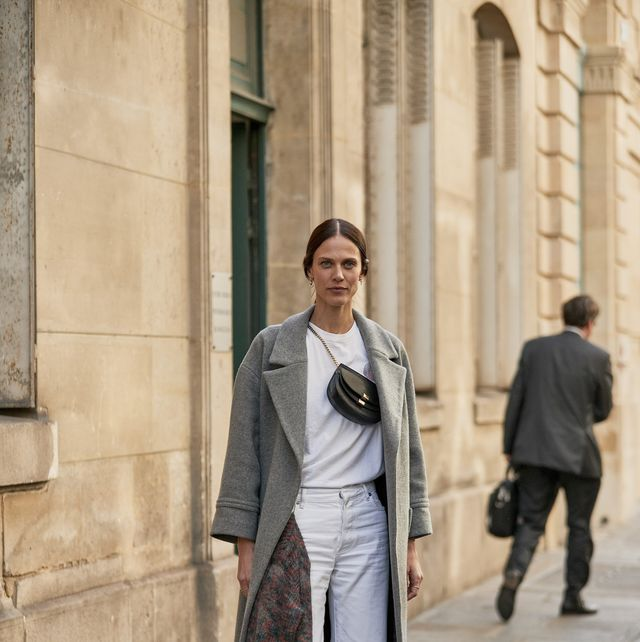 Street fashion, Clothing, Photograph, Fashion, Coat, Snapshot, Suit, Standing, Trench coat, Outerwear,
