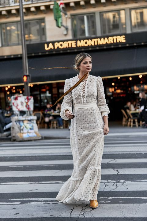 White, Street fashion, Photograph, Clothing, Fashion, Snapshot, Dress, Beauty, Fashion model, Infrastructure,