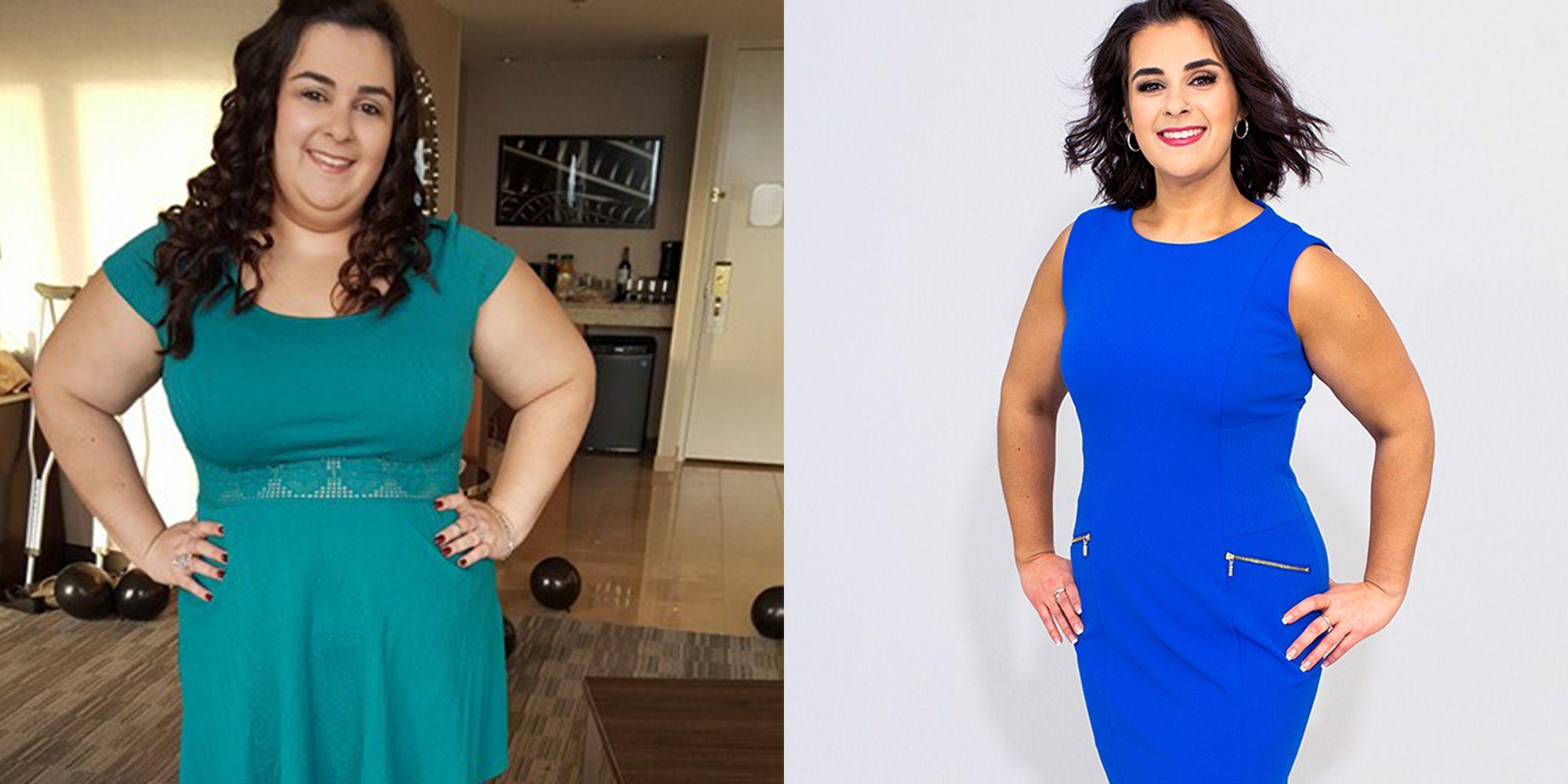 wedding photos weight loss success story