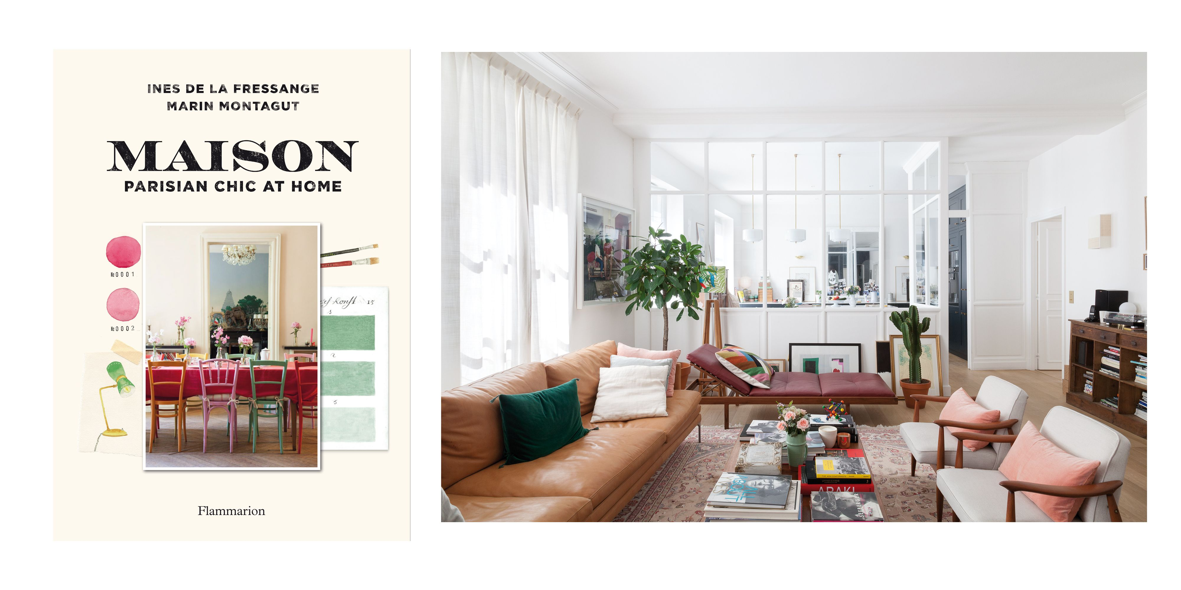 Ines de la Fressange's Parisian Chic at Home Book - Tour the Home ...