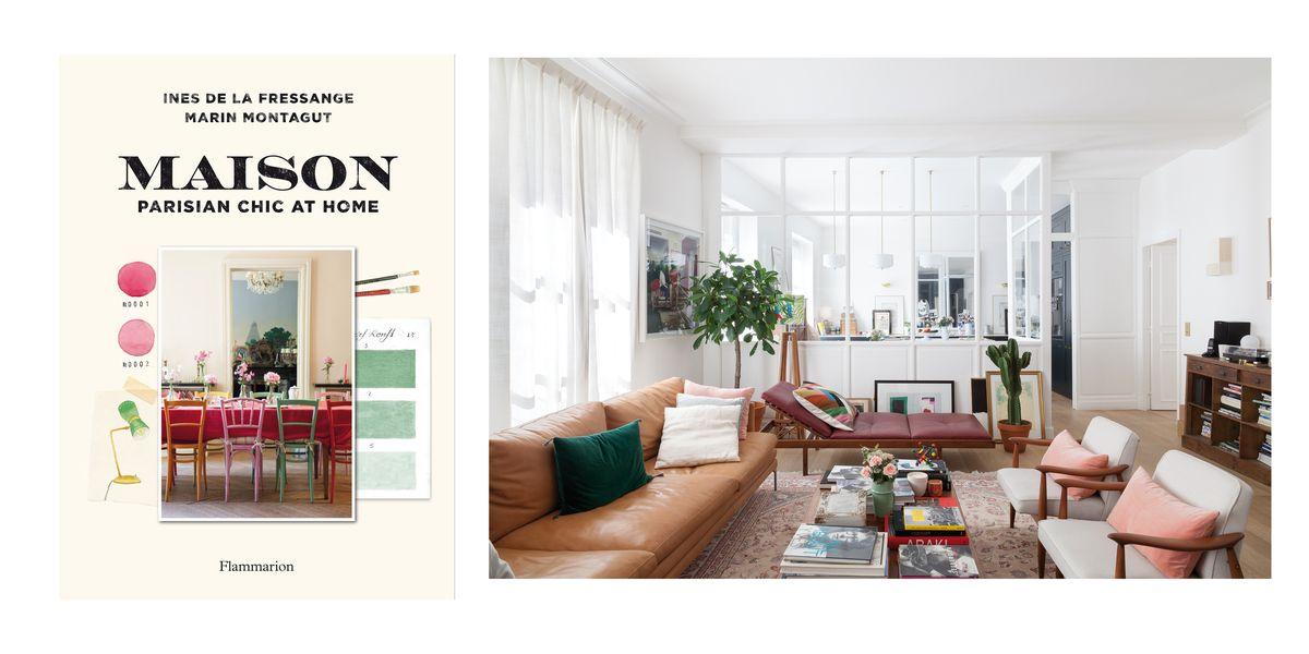 Ines De La Fressange S Parisian Chic At Home Book Tour