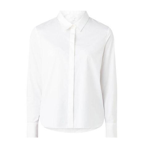 cos blouse met driekwart mouw