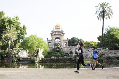 Territorio runner: Parque de la Ciutadella (Barcelona)