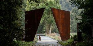 Parque esculturas Portes Bonheur - le Chemin des Carrières