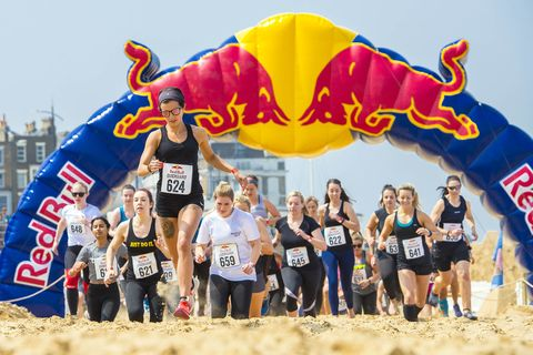 Leo Francis, Red Bull Content Pool, Participants compete at Red Bull QuickSand in Margate, United Kingdom on May 18, 2019.