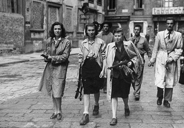 italian partisans associated with the partito dazione during the liberation of milan   photo by keystonegetty images