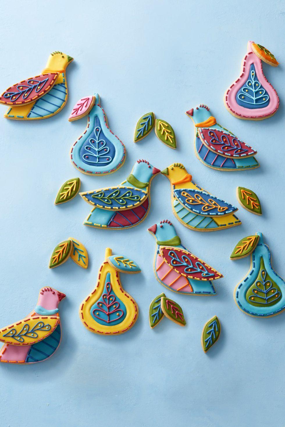Partridge Cookies