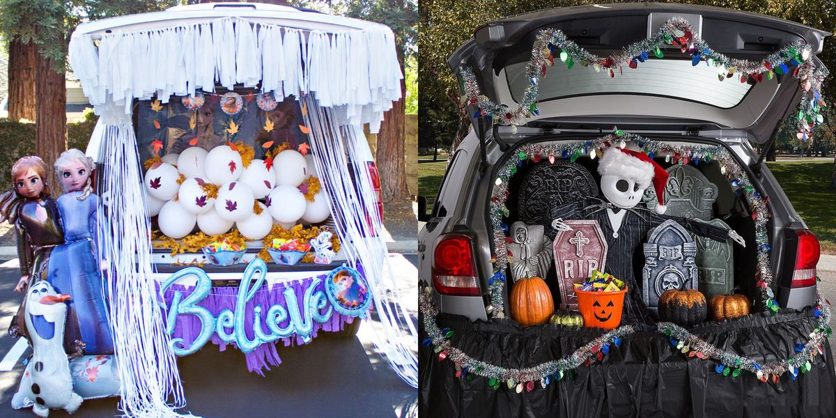 Trunk-Or-Treat' Kits Are An Easy Way To Decorate For Halloween