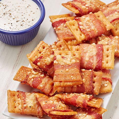 Air Fryer Bacon Crack Bites