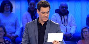 Christian Gálvez se emociona en Pasapalabra al leer una carta