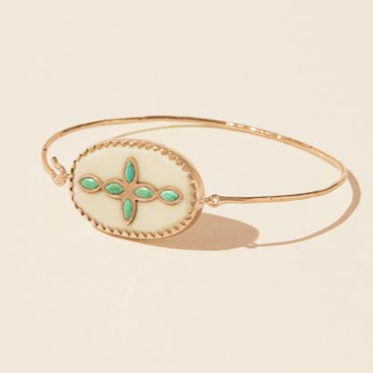 Jewellery, Fashion accessory, Turquoise, Body jewelry, Bracelet, Turquoise, Bangle, Beige, Gemstone, Ring,