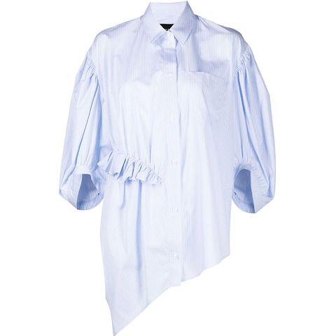 simone rocha blouse met ruffles pasen outfit