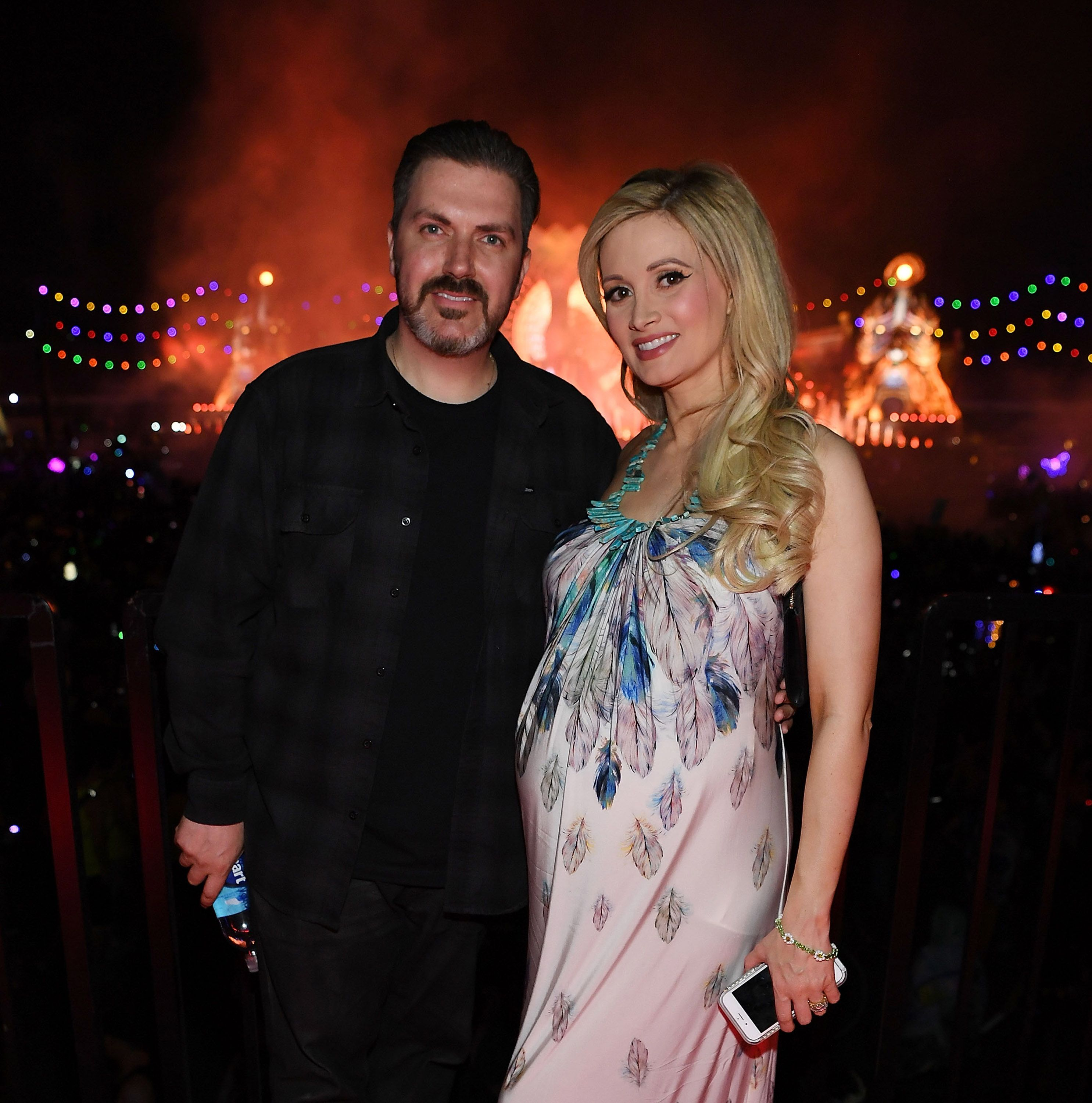 Holly Madison and hugh