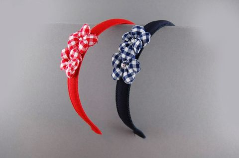 Headband, Red, Hair accessory, Headpiece, Headgear, Fashion accessory, Plant, Hair tie,