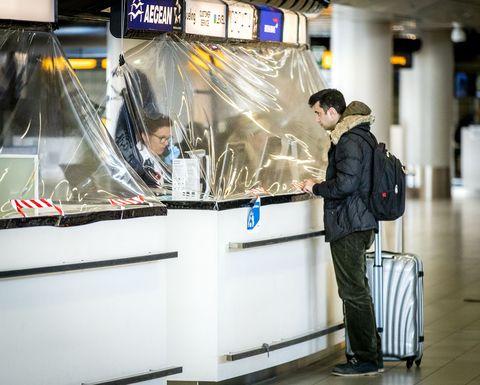 topshot netherlands air transport health virus