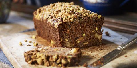 Food, Dish, Cuisine, Pumpkin bread, Soda bread, Banana bread, Ingredient, Gluten, Bread, Baked goods,