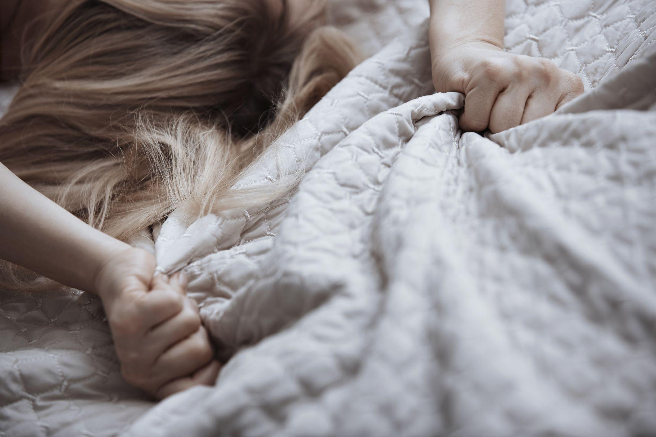 Sleeping female orgasm