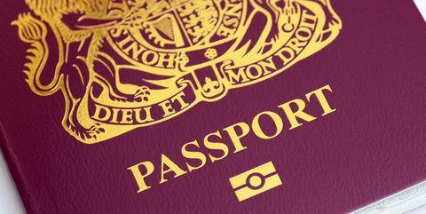 UK passport, British passport