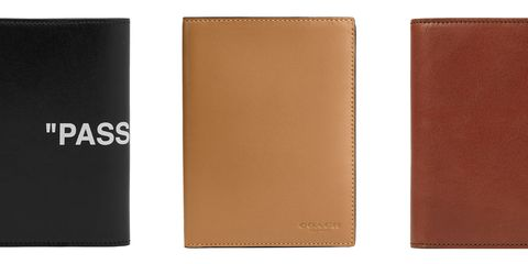 Brown, Tan, Wallet, Leather, Fashion accessory, Rectangle,