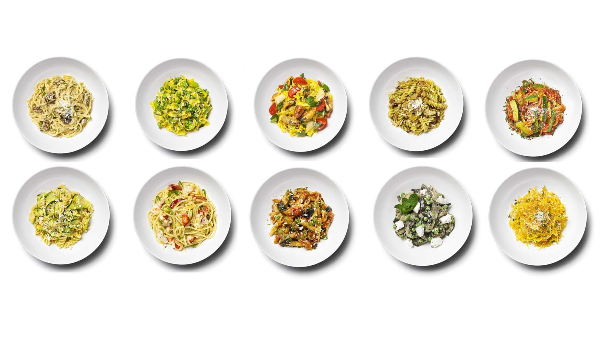 10 power pastas for runners carb-loading for their next race