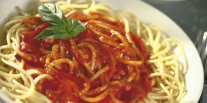 Pasta with Marinara and 300x150