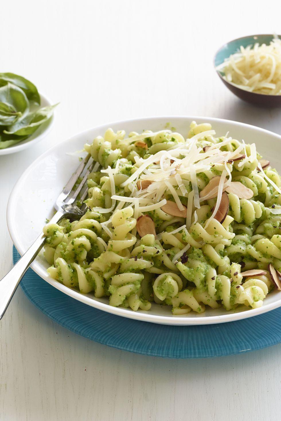 vegetarian recipes pasta broccoli pesto