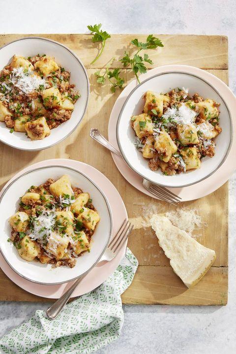 pasta recipes potato gnocchi pork ragu