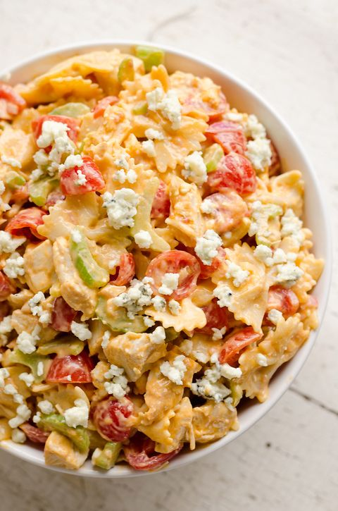 Pasta Salad Recipes Buffalo En