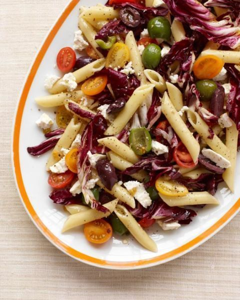 pasta salad recipes sicilian pasta salad