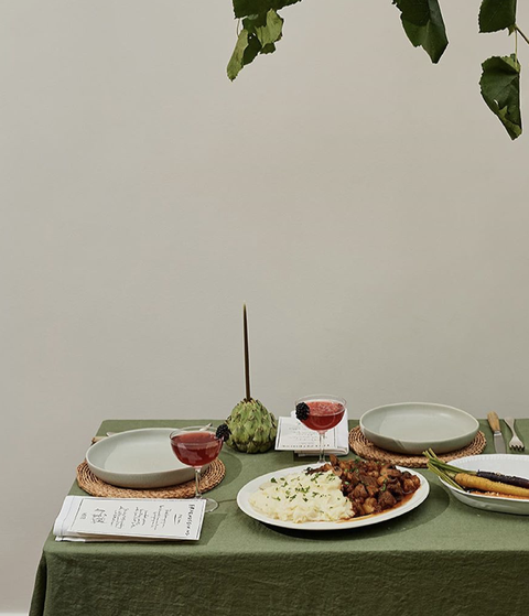 chiara perano's tips for personalising your table settings